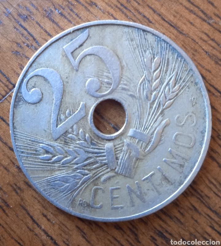 Monedas República: 25 centimos moneda - Foto 2 - 254747320