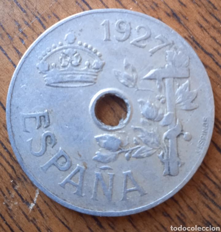 25 CENTIMOS 1927 MONEDA (Numismática - España Modernas y Contemporáneas - República)