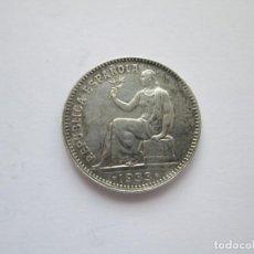 Monedas República: REPUBLICA ESPAÑOLA * 1 PESETA 1933*34 * PLATA. Lote 254840795
