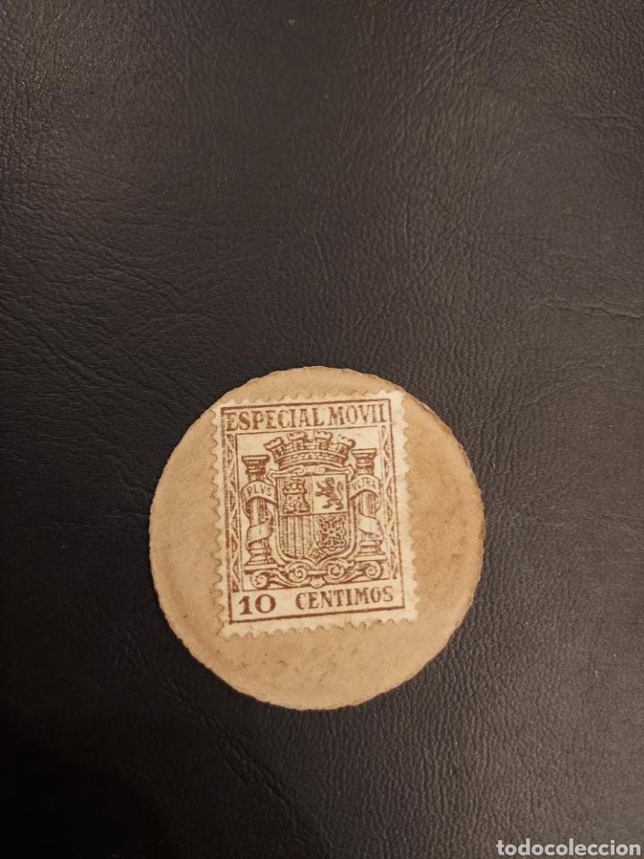 10 CÉNTIMOS DE PESETA. CARTON MONEDA. SEGUNDA REPÚBLICA. (Numismática - España Modernas y Contemporáneas - República)