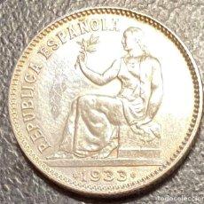 Monedas República: ESPAÑA, SEGUNDA REPÚBLICA, MONEDA DE 1 PESETA DEL AÑO 1933. Lote 258320230