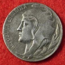 Monedas República: MONEDA 5 CENTIMOS REPUBLICA 1937 EBC- ORIGINAL C4. Lote 258971565