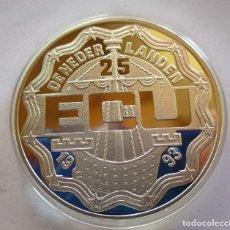 Monnaies République: UNION EUROPEA . MAASTRICH . 25 ECU DEL AÑO 1993 . PLATA DE 925 MM . PERFECTA . PESO 25 GRAMOS. Lote 260632865