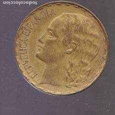 Monnaies République: CM9- MONEDA 1 PTA REPUBLICA 1937. EBC / SC. Lote 260801470