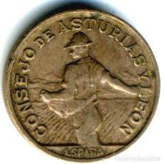 Monnaies République: XS- ASTURIAS Y LEON 1937 1 PESETA GUERRA CIVIL 1937. Lote 262319645