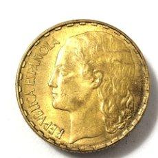Monedas República: MONEDA DE 1 PESETA DE 1937 .EBC +. Lote 262809935