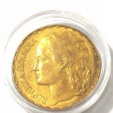 Monedas República: MONEDA DE 1 PESETA DE 1937 .EBC. Lote 262810895