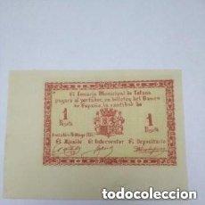 Monedas República: ESPAÑA 1 PESETA CONSEJO MUNICIPAL DE TOTANA EMISION DEL 16 DE MAYO DE 1931. Lote 263110210