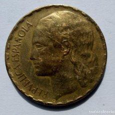 Monedas República: ESPAÑA II REPÚBLICA GOBIERNO DE ESPAÑA 1 PESETA 1937. Lote 264762199