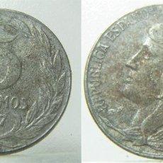 Monete Repubblica: MONEDA DE LA REPUBLICA ESPAÑOLA 5 CÉNTIMOS DE HIERRO 1937. Lote 264826784