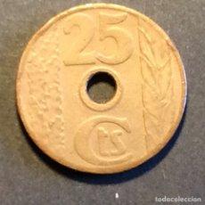 Monedas República: 25 CÉNTIMOS REPUBLICA ESPAÑOLA. 1938. Lote 266255443