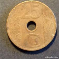 Monedas República: 25 CÉNTIMOS REPUBLICA ESPAÑOLA. 1938. Lote 266255783