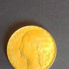 Monedas República: II REPÚBLICA. 1 PESETA DE 1937. SC. MUY BONITA.. Lote 274735208
