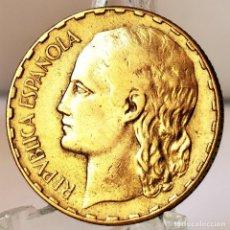 Monete Repubblica: ⚜️ A2315. ESPAÑA. REPÚBLICA. 1 PESETA 1937. Lote 275103143