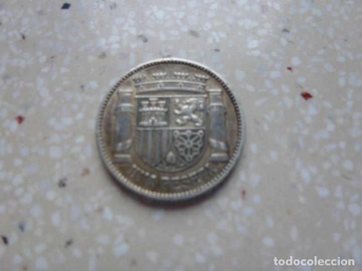 Monedas República: Moneda Peseta 1933 ( 3 - 4 ) Segunda República - Original - Plata - Foto 2 - 276733703