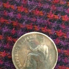 Monedas República: 50 CENTIMOS 1937. Lote 277263543