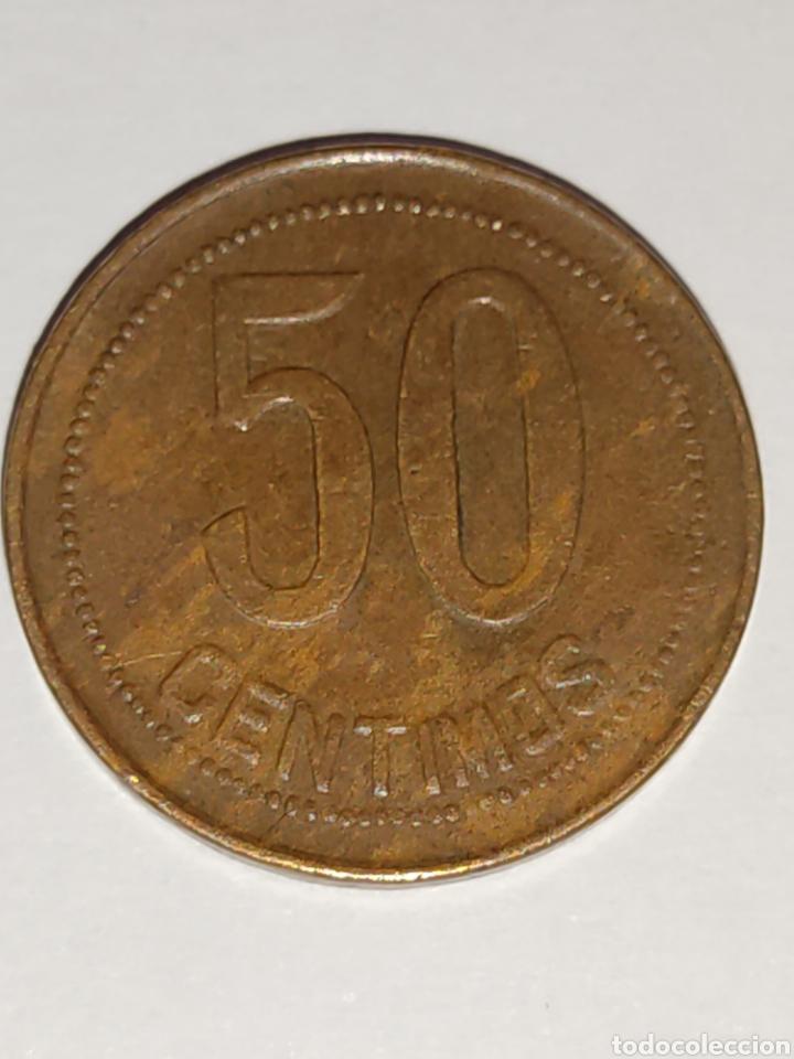 Monedas República: Moneda 50 céntimos 1937 (*3-4) - Foto 3 - 278875258