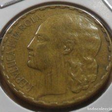 Monedas República: ESPAÑA - 1 PESETA - 1937 * - 2ª REPUBLICA ESPAÑOLA. Lote 279366298
