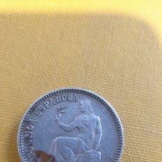 Monedas República: 1 PESETA SEGUNDA REPÚBLICA ESPAÑOLA DE PLATA 3* 4*. Lote 285579688