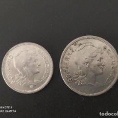 Monedas República: LOTE DE 1 Y 2 PESETAS DE 1937....EUSKADI.... MUY BONITA.....ES LA DE LAS FOTOS. Lote 285651878