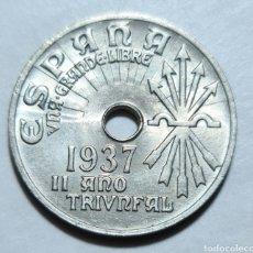 Monedas República: 25 CENTIMOS 1937 VIENA SIN CIRCULAR. Lote 285694393