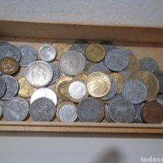 Monedas República: UN LOTE DE 74 MONEDAS ANTIGUAS. Lote 286560383