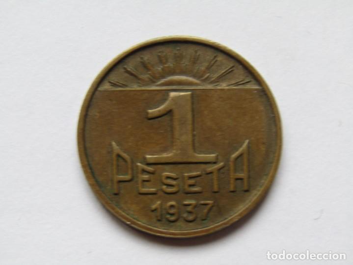 1 PESETA CONSEJO DE ASTURIAS Y LEON (Numismática - España Modernas y Contemporáneas - República)