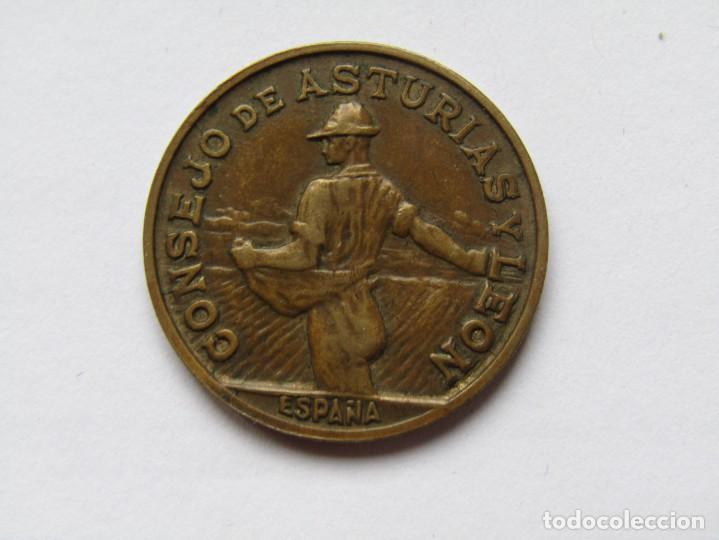 Monedas República: 1 PESETA CONSEJO DE ASTURIAS Y LEON - Foto 2 - 286797703