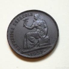 Monnaies République: 50 CÉNTIMOS REPÚBLICA ESPAÑOLA 1937. Lote 286861833
