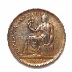 Monedas República: MONEDA DE 50 CÉNTIMOS DE 1937. II REPUBLICA.MUY BIEN CONSERVADA.. Lote 288702543