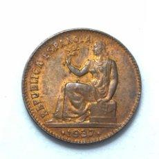 Monedas República: MONEDA DE 50 CÉNTIMOS DE 1937. II REPUBLICA.MUY BIEN CONSERVADA.. Lote 288703068