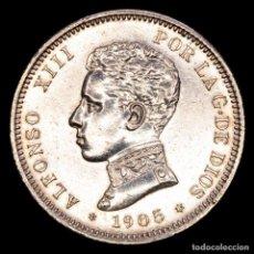 Monedas República: ESPAÑA - ALFONSO XIII (1886 - 1931) 2 PESETAS 1905. PLATA.. Lote 289198143