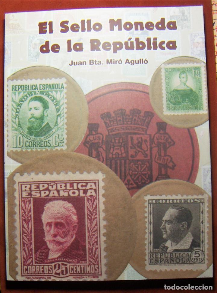 Monedas República: Cartón Moneda Sello de Republica Española de 25 Céntimos + catalogo El sello Moneda de la Republica - Foto 4 - 289736228