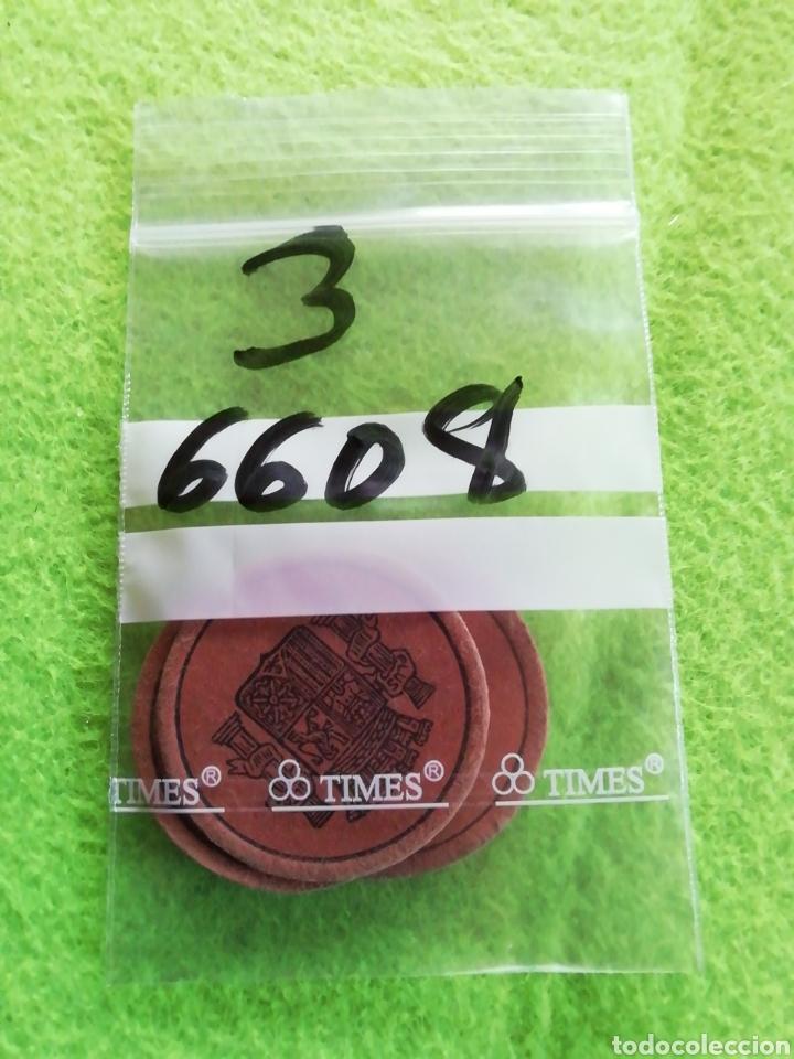 Monedas República: Lote de 3 monedas cartón. De 5/15/25. Moneda de la República española - Foto 3 - 290086608