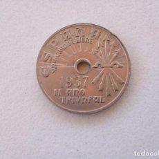Monedas República: REPUBLICA 25 CENTIMOS 1.937. SIN CIRCULAR. (14). Lote 291059633