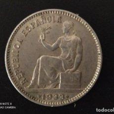 Monedas República: 1 PESETA DE 1933..*3 *4....PLATA....MUY BONITA....ES LA DE LAS FOTOS. Lote 292278233