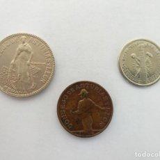 Monedas República: MONEDAS CONSEJO DE ASTURIAS Y LEÓN - SERIE COMPLETA. Lote 296040003