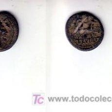 Monedas Roma República: 84-REPÚBLICA ROMANA. DENARIO. F RUTILIA. 75 A.C. MBC-. Lote 22945963