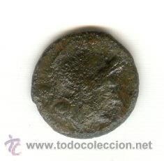 TRIENS DE LA REPÚBLICA ROMANA AÑO 211 A.C. CABEZA DE ROMA PROA DE NAVE BARCO GALERA (Numismática - Periodo Antiguo - Roma República)