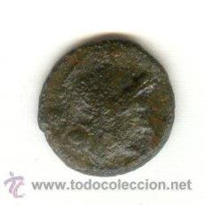 Monedas Roma República: TRIENS DE LA REPÚBLICA ROMANA AÑO 211 A.C. CABEZA DE ROMA PROA DE NAVE BARCO GALERA. Lote 25355583
