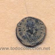 Monedas Roma República: MONEDA 343 - MONEDA ROMANA ROMAN COIN MEASURES 8 MM WEIGHT 1 GRMS MEDIDAS SOBRE 8 MM PESO SOBRE 1 - Foto 2 - 35596991