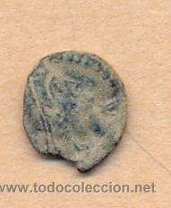 Monedas Roma República: MONEDA 345 - MONEDA ROMANA ROMAN COIN MEASURES 15 MM WEIGHT 2 GRMS MEDIDAS SOBRE 15 MM PESO SOBRE - Foto 3 - 35597325