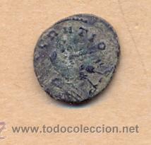 MONEDA 349 - SE LEE CAUTIO - MONEDA 349 - MONEDA ROMANA - SE LEE CAUTIO - ROMAN COIN MEASURES 15 MM (Numismática - Periodo Antiguo - Roma República)