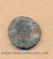 Monedas Roma República: MONEDA 352 - MONEDA ROMANA - ROMAN COIN MEASURES 15 MM WEIGHT 2 GRMS MEDIDAS SOBRE 15 MM PESO SOB - Foto 2 - 35600080