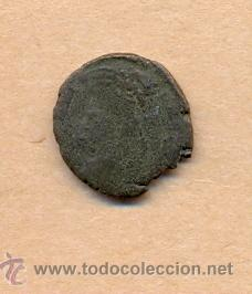 Monedas Roma República: MONEDA 355 - MONEDA ROMANA - ROMAN COIN MEASURES 15 MM WEIGHT 2 GRMS MEDIDAS SOBRE 15 MM PESO SOB - Foto 2 - 35600401