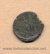 Monedas Roma República: MONEDA 355 - MONEDA ROMANA - ROMAN COIN MEASURES 15 MM WEIGHT 2 GRMS MEDIDAS SOBRE 15 MM PESO SOB - Foto 3 - 35600401