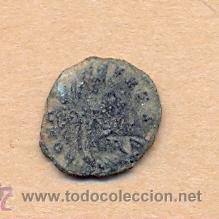 Monedas Roma República: MONEDA 356 - MONEDA ROMANA - ROMAN COIN MEASURES 15 MM WEIGHT 2 GRMS MEDIDAS SOBRE 15 MM PESO SOB - Foto 2 - 35600563