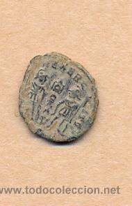 Monedas Roma República: MONEDA 356 - MONEDA ROMANA - ROMAN COIN MEASURES 15 MM WEIGHT 2 GRMS MEDIDAS SOBRE 15 MM PESO SOB - Foto 3 - 35600563