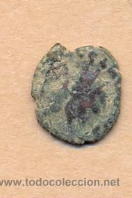 MONEDA 361 - MONEDA ROMANA - ROMAN COIN MEASURES 17 MM WEIGHT 2 GRMS MEDIDAS SOBRE 17 MM PESO SOB (Numismática - Periodo Antiguo - Roma República)