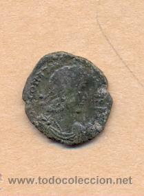 Monedas Roma República: MONEDA 370 - MONEDA ROMANA - ROMAN COIN MEASURES 15 MM WEIGHT 1 GRMS MEDIDAS SOBRE 15 MM PESO SOB - Foto 2 - 35623782